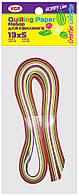 Цветная бумага для квиллинга двухсторонняя HOBBY LINE, VGR