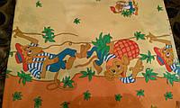Детская постельная ткань бязь ш.150 Обезьянка