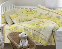 Детская постельная ткань бязь ш.150 Слоник