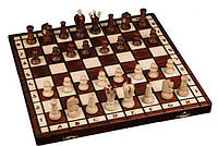 Шахматы Wegiel Royal 36 король 70 мм (2022) Коричневые