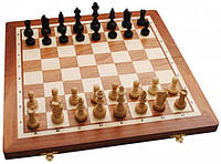 Шахматы Gniadek Турнирные №4 Intarsia король 72 мм (1054) Коричневые