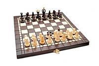Шахматы Madon король 70 мм и нарды (3180) Коричневые