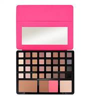 Палитра теней для век  Freedom Makeup London Eyeshadow Palette Pro Artist Pad - Studio to Go (Pink)