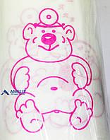 Нагрудные салфетки для детей, 40х32, белые (Thienel Dental), 100 шт./рулон, фото 1