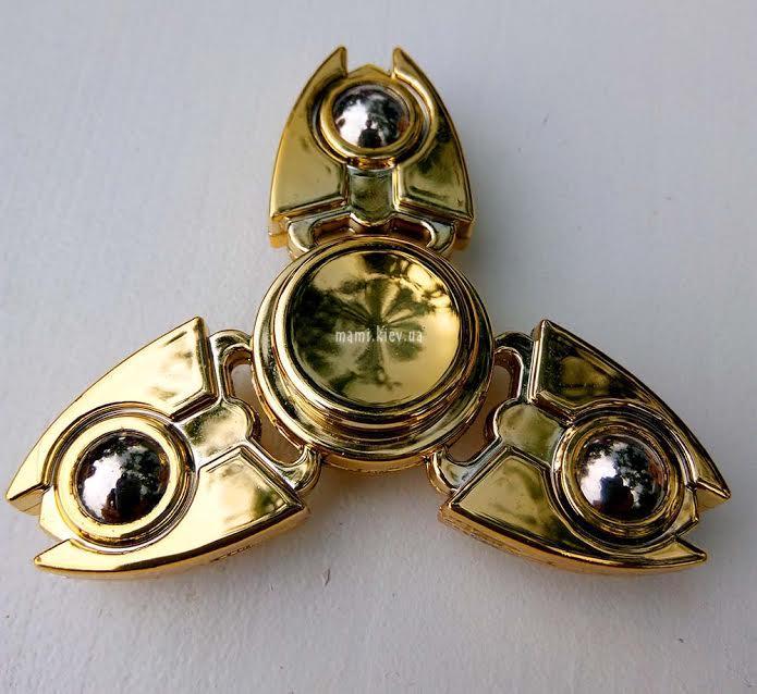 Спиннер Handspinner spinner Крабик Золото