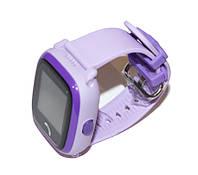 """Детские часы DF25 (Q100aqua) с GPS Violet, GPS трекер, сенсорный экран 1,22"""", GPS/GSM/GPRS, аккумулятор 400 mAh, влагозащита"""
