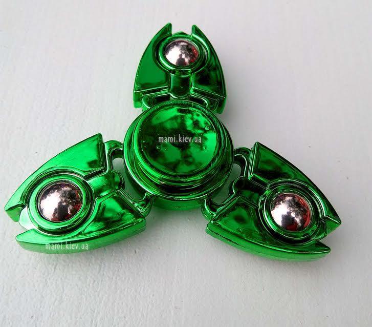 Спиннер Handspinner spinner Крабик Зеленый