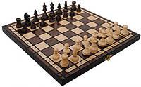 Шахматы Madon OLIMPIC Small король 65 мм (312201) Коричневые