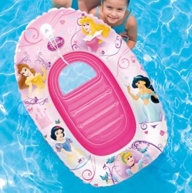 Детский надувной плотик для плавания Русалочка.