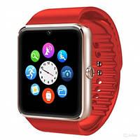 Часы Smart Watch Phone GT08 Красные под Сим карту! Супер цена!, фото 1