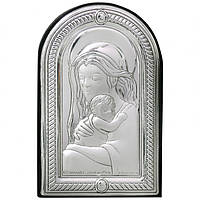 Икона «Мадонна с младенцем», Linea Argenti, 8,3х5,3 см.