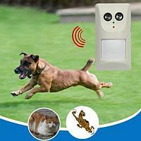 Ультразвуковой отпугиватель собак, кошек и грызунов JF-0902