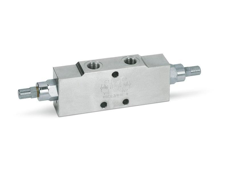 "Overcenter - тормозной (подпорный) клапан (160 л/мин, G 1"")"