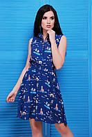 Легкое молодежное платье