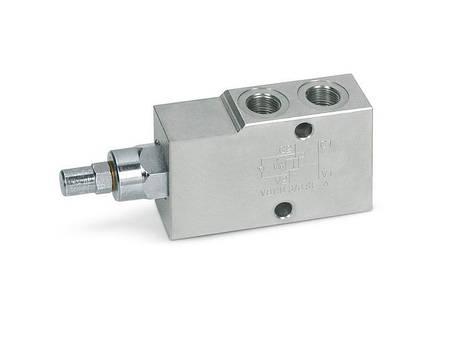 """Overcenter - гальмівний (підпірний) клапан (160 л/хв, G 1""""), фото 2"""