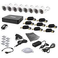 Комплект видеонаблюдения Tecsar 8OUT + HDD 1TB