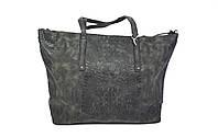 Черная женская большая сумка шоппер Beliford 896  Black ( новинка )
