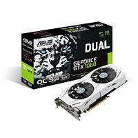 Видеокарта Asus GeForce GTX1060 Dual OC 3Gb (DUAL-GTX1060-O3G)