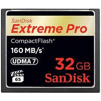 Карта памяти SanDisk CF 32GB eXtreme Pro 160MB/s (SDCFXPS-032G-X46)