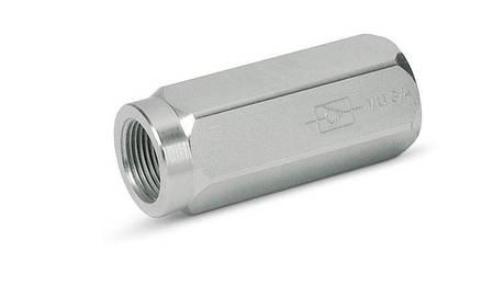 """Обратный клапан VU 1"""" ±0,4/0,7 BAR, фото 2"""