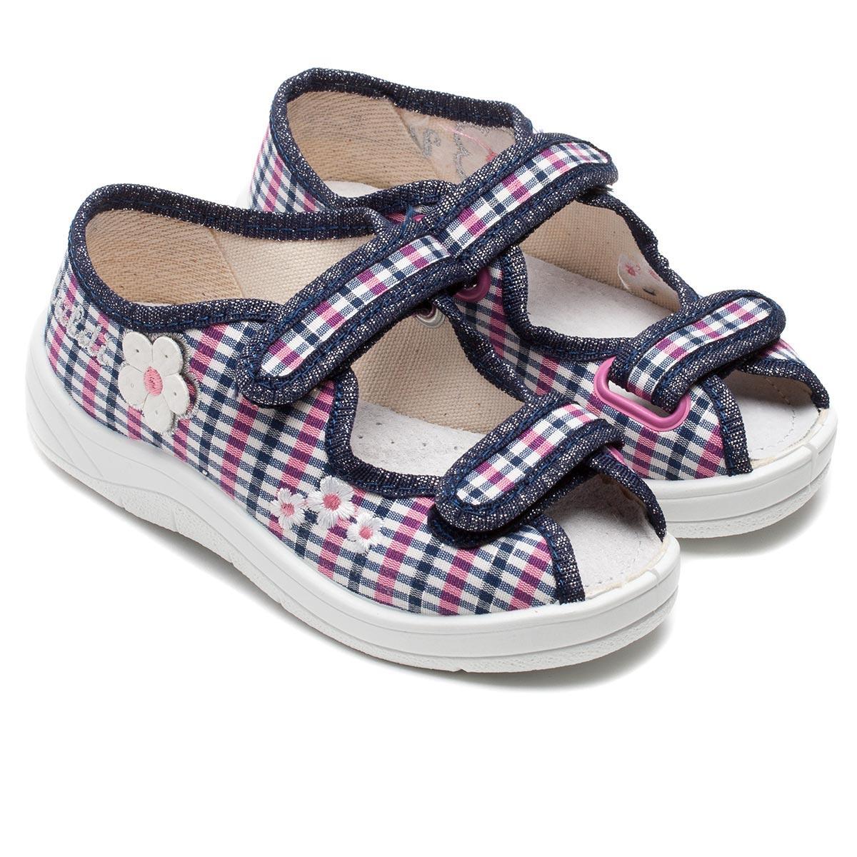 Ортопедические тапочки - сандалики Waldi для девочки, модель Даша, размер 24-30