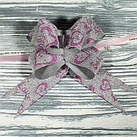 """Полипропиленовый бант-затяжка """"бабочка"""" (10 шт, ширина ленты 3 см) Продается упаковками"""