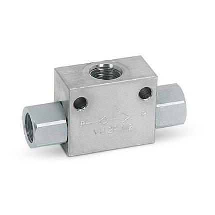 "Клапан типа ""ИЛИ"" - G 1/2, 70 л/мин, фото 2"