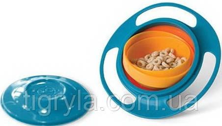 Тарелка непроливайка нерассыпайка Gyro Bowl, фото 2