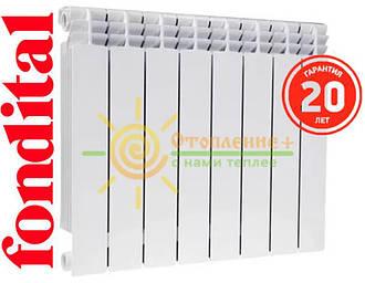 Биметаллический радиатор Fondital ALUSTAL 500х100 Италия