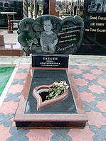 Детский памятник с портретом