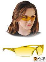 Очки защитные MCR-LAW YY желтого цвета - Диэлектрические