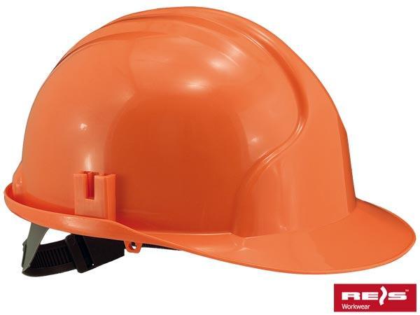 Каска защитная строительная KASPE Р, оранжевого цвета - REIS
