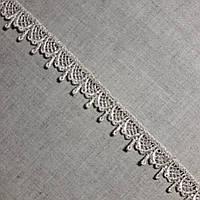 Кружево макраме Капли бежевое, 2 см, фото 1