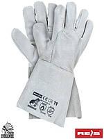 Сварочные перчатки RSPBSZINDIANEX JS, выполненные полностью из яловой кожи - REIS, Размер 11