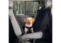 TRIXIE Чехол на задние сидения для собак с боковыми панелями, нейлон, чёрный, 1,5x1,35м