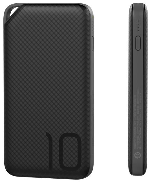 Портативное зарядное устройство Huawei AP08Q QC3.0 - 10000 mAh Li-pol Black (внешняя зарядка для телефона)