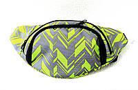 Барсетка, сумка на пояс, на плечо, бананка. Принт #3