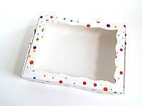 Коробка для пряников 15х20х3 см Капитошка