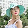 Шляпа мятного цвета