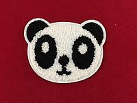 Нашивка панда 9 см на 11,5 см