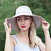 Шляпа светло-серая