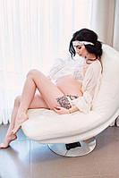 Халат и комплект белья для беременных Rebel можно купить отдельно