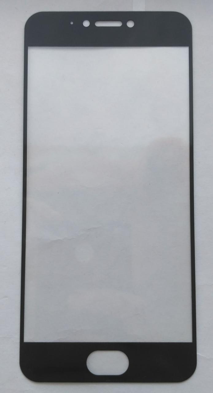 Защитное стекло черное для Meizu Pro 6