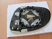 Вкладиш зеркала правий з обігрівом для Volkswagen Passat B6,B5