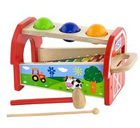 Игрушка 2-в-1 Ксилофон Viga toys (50348)