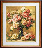 """Набор для вышивания """"Розы в вазе (Roses in a vase)"""" EXPRESSIONS ex909"""