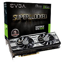 Видеокарта EVGA GeForce GTX 1070 SC GAMING ACX 3.0 8 GB