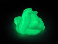 Handgum Зеленый Светящийся 80г, загадочный умный пластилин