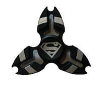 Спиннер Tri Fidget (Супермен, металл. коробка) Игрушка антистресс