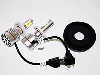 Отличная замена штатным лампам светодиодные лампочки H4 LED 33W 12V. Хорошее качество. Доступно.  Код: КГ1493